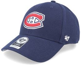 Montreal Canadiens MVP Light Navy Adjustable - 47 Brand