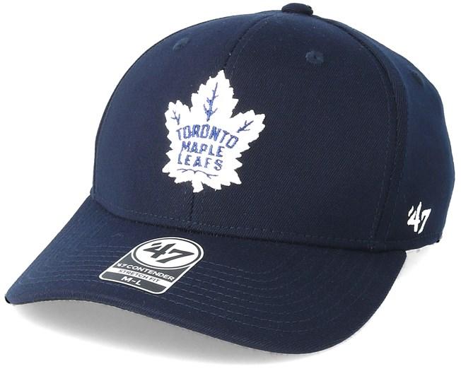 Toronto Maple Leafs Contender Navy Flexfit - 47 Brand caps ... 8fd06f65e76a