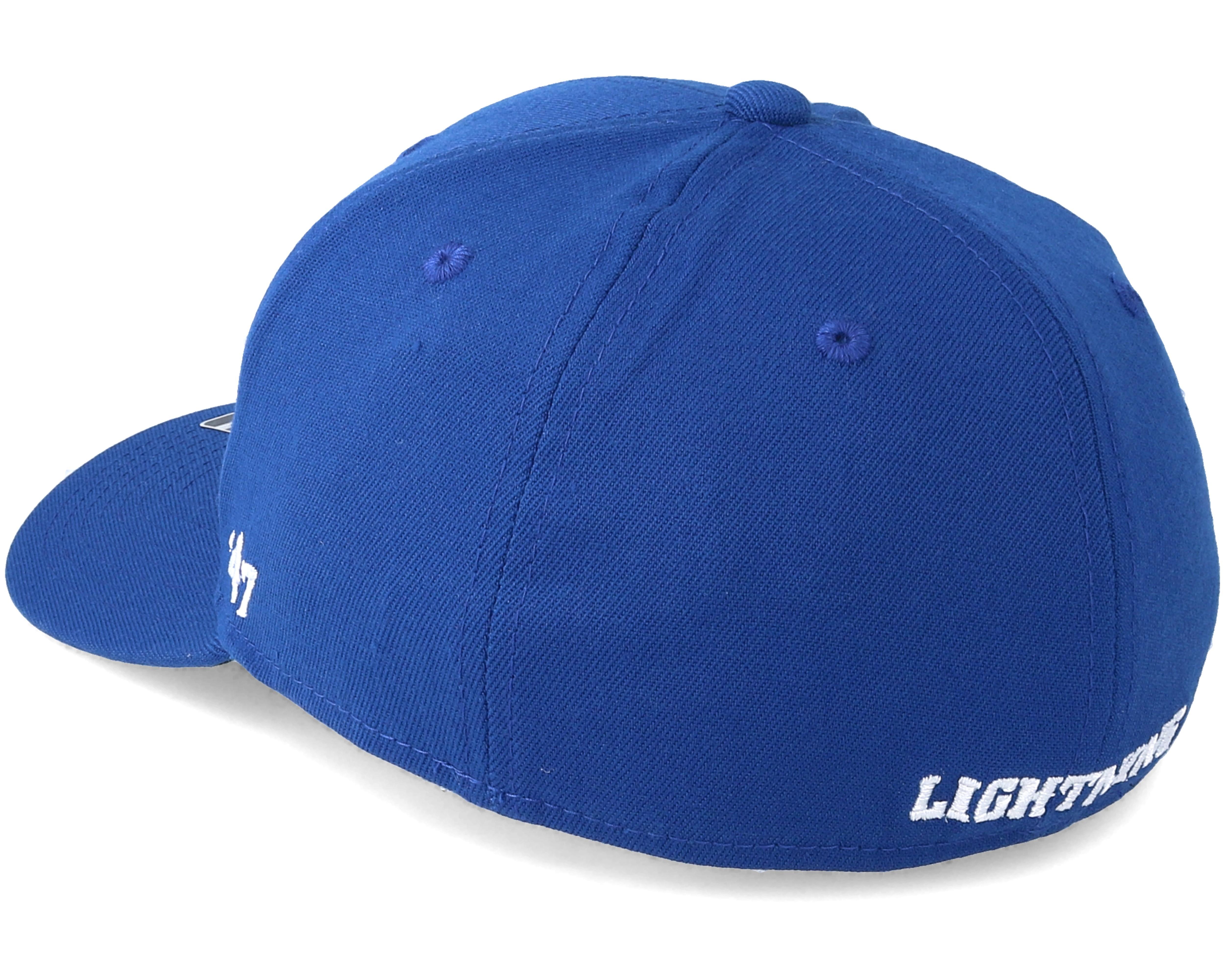 Tampa Bay Lightning Contender Royal Flexfit 47 Brand