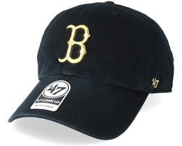 Boston Red Sox Metallic Black/Gold Adjustable - 47 Brand