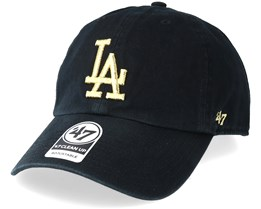 Los Angeles Dodgers Metallic Black/Gold Adjustable - 47 Brand