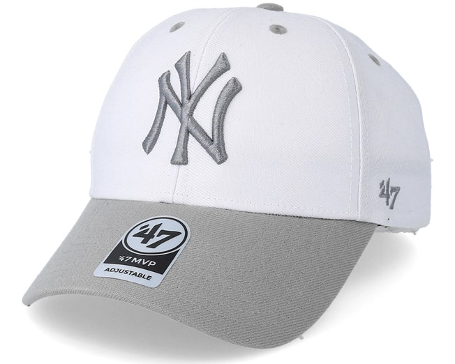 eaf044b96 New York Yankees Audible Two Tone White Adjustable - 47 Brand caps ...