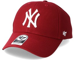 4f3088125da New York Yankees Mvp Cardinal Adjustable - 47 Brand