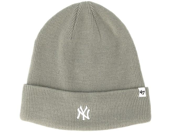 75ba812c1563b New York Yankees Centerfield Gray Beanie - 47 Brand beanies ...