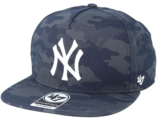 27d670c7bdeef1 New York Yankees Vintage Tonal Camo Navy Snapback - 47 Brand caps ...