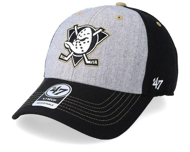 883499c160780 Anaheim Ducks Formation 47 Mvp Grey Black Khaki Adjustable - 47 Brand caps  - Hatstoreaustralia.com