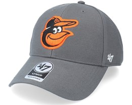 Baltimore Orioles Mvp Charcoal Adjustable - 47 Brand
