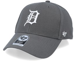 Detroit Tigers Mvp Charcoal/White Adjustable - 47 Brand