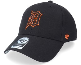 Detroit Tigers Mvp Black Adjustable - 47 Brand