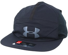 Men´s Packable Run Cap Black Strapback - Under Armour