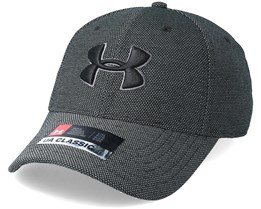 Heathered Black Blitzing 3.0 Flexfit - Under Armour