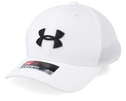 Kids Boy´s Golf Classic Mesh 2.0 White Flexfit - Under Armour