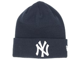 Kids New York Yankees Knit Navy/White Cuff - New Era