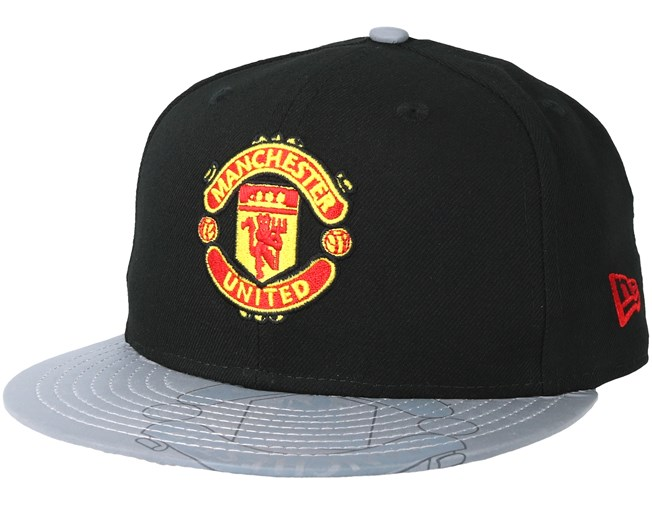 Manchester United Reflective Visor 59Fifty Black Fitted - New Era - Start  Gorra - Hatstore eaa74e29d2d