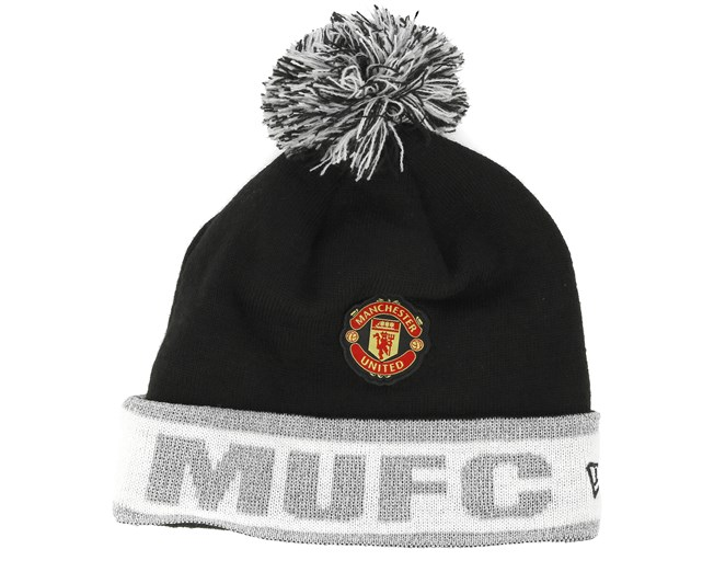 a7e4a36066f Manchester United Reflective Knit Black Cuff - New Era beanies ...