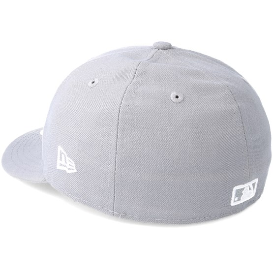Boston Red Sox Poly Low Profile 59Fifty Grey Fitted - New Era caps -  Hatstoreworld.com 3450d5cca68