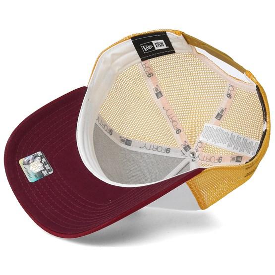 decade9c1bd55 Washington Redskins Throwback Trucker White Adjustable - New Era caps