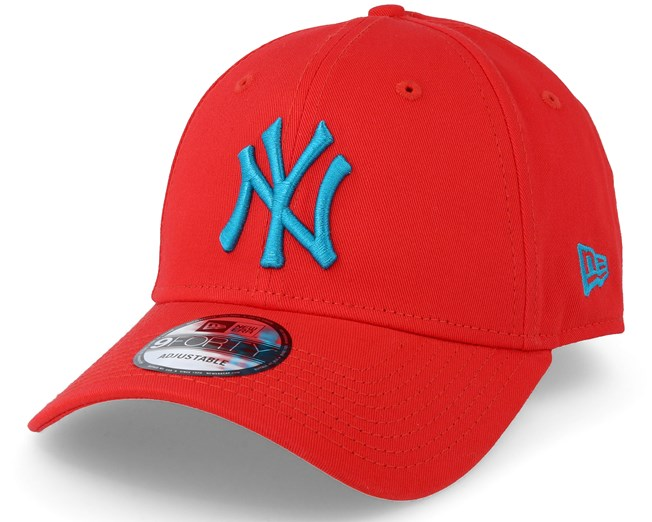 New York Yankees League Essential 940 Red Adjustable - New Era - Start Boné  - Hatstore 97ed41ae4f5