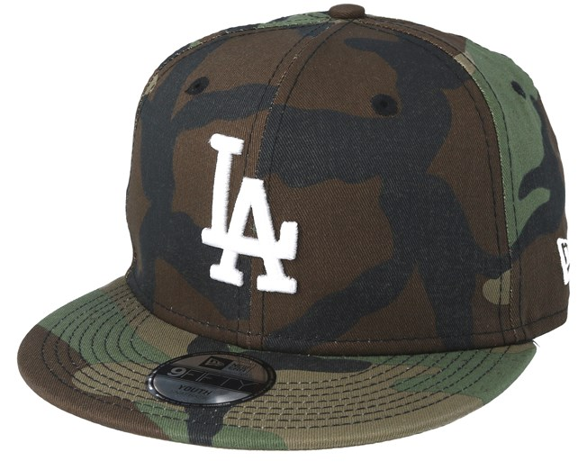 san francisco 3e438 e69c7 Kids Los Angeles Dodgers Jr League Essential 940 Camo Snapback - New Era  caps - Hatstoreworld.com