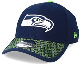 Seattle Seahawks Sideline 39Thirty Navy Flexfit - New Era