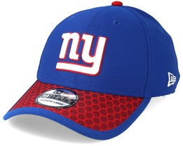 New York Giants Sideline 39Thirty Royal Blue Flexfit - New Era