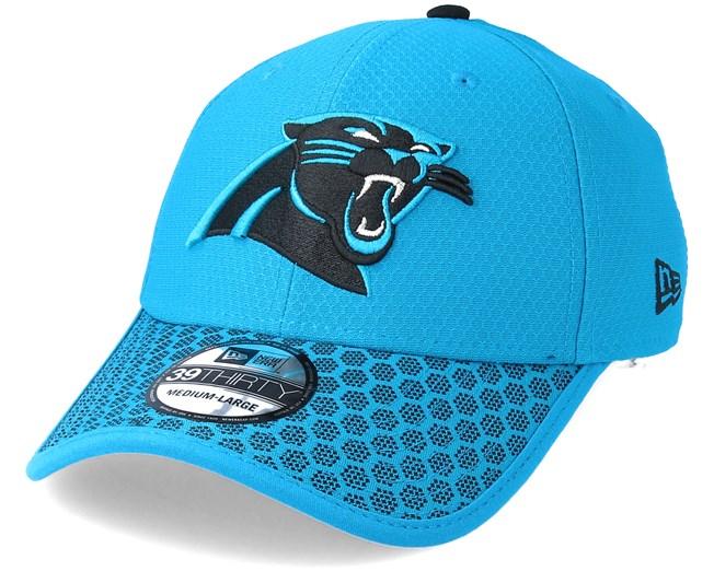 brand new b41a9 d4d90 Carolina Panthers Sideline 39Thirty Teal Flexfit - New Era