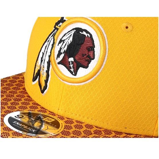 ad41c4ff2e4 Washington Redskins Sideline 9Fifty Yellow Snapback - New Era caps -  Hatstoreworld.com