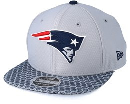 New England Paitriots Sideline 9Fifty Grey Snapback - New Era