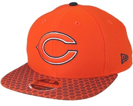 Chicago Bears Sideline 9Fifty Orange Snapback - New Era