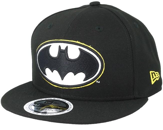 d075e19309d Batman Team Gitd Basic 9Fifty Black Snapback - New Era - casquette ...