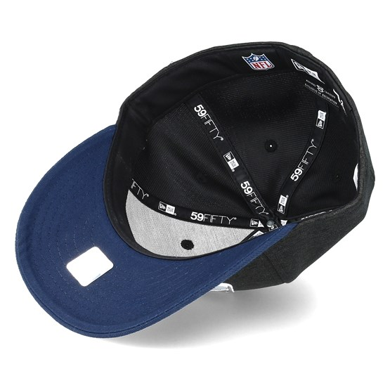 441947829 Seattle Seahawks Shadow Tech Low Profile 59Fifty Heather Grey Fitted - New  Era caps - Hatstoreworld.com