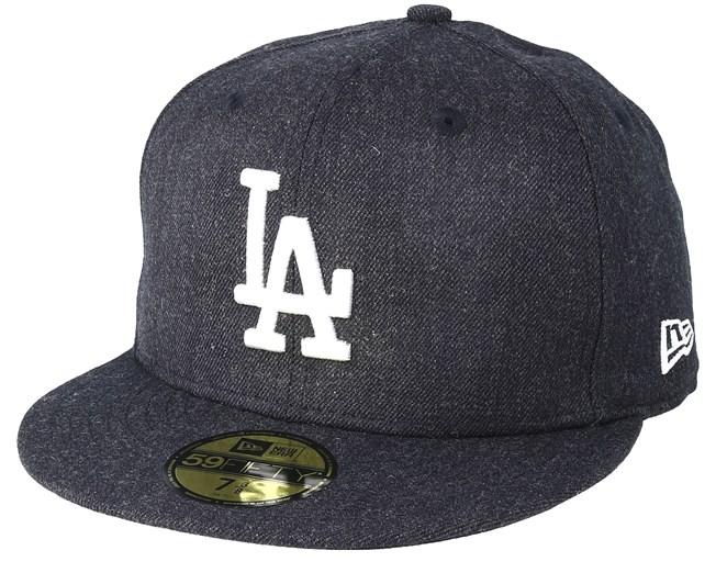 b754fe9b286f8 Los Angeles Dodgers Season Heather 9Fifty Navy Fitted - New Era caps -  Hatstoreworld.com