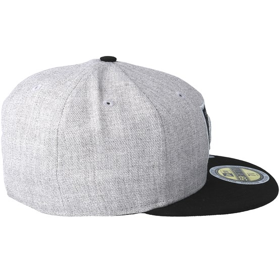 Oakland Raiders 59Fifty Reflective Heather Grey Fitted - New Era caps  59ba493af