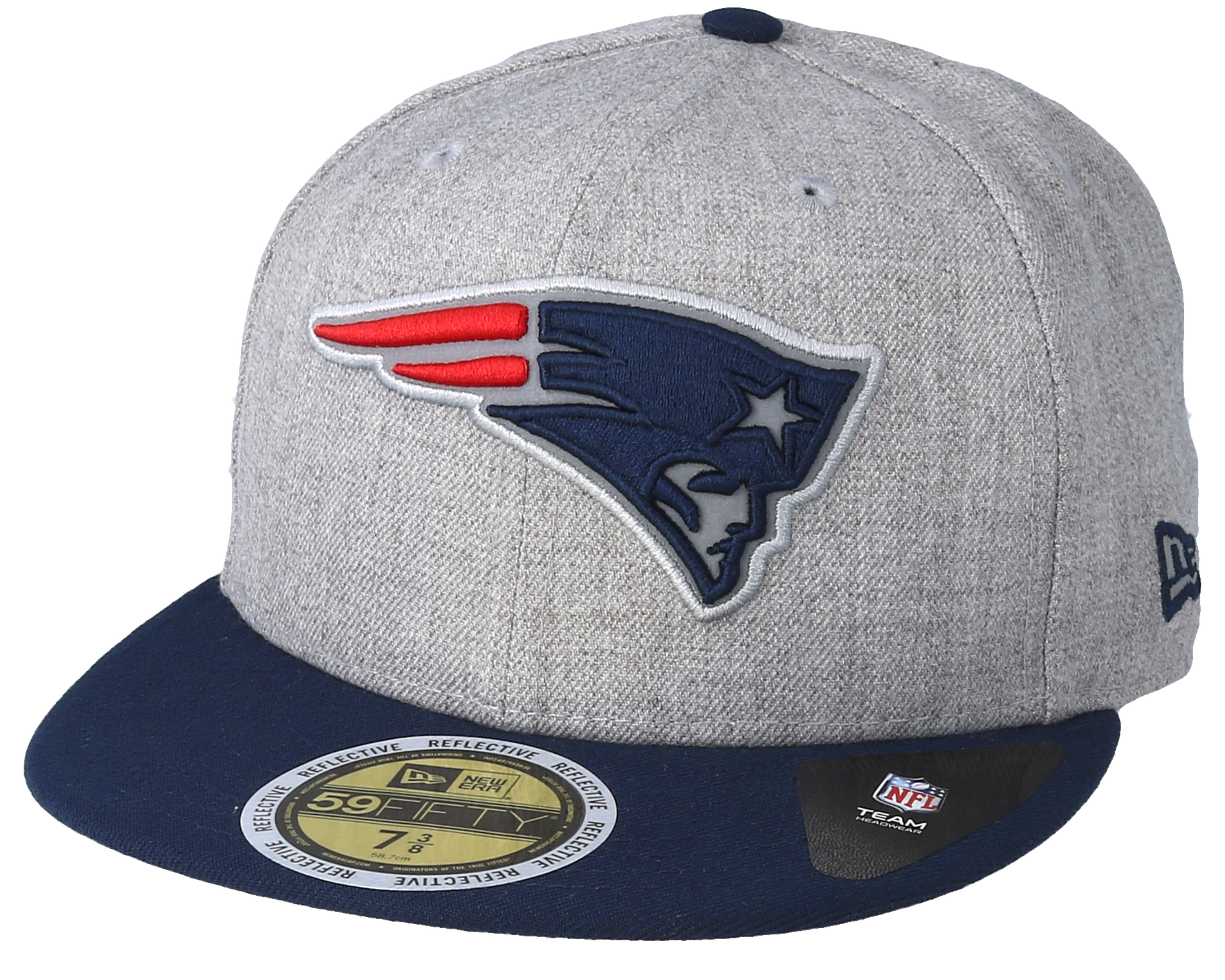 New Era Trucker Cap HEATHER New England Patriots