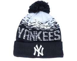 New York Yankees Sport Knit Black/White Pom - New Era