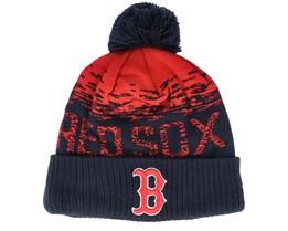 Boston Red Sox Sport Knit Navy/Red Pom - New Era