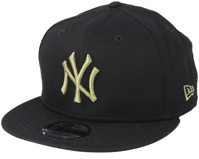 891fa2843 New York Yankees League Essential 9Fifty Black/Olive Snapback - New ...