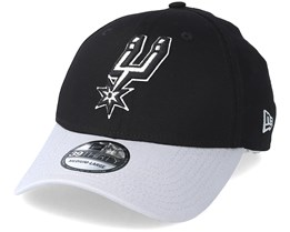 San Antonio Spurs Black Base 39Thirty Black Flexfit - New Era