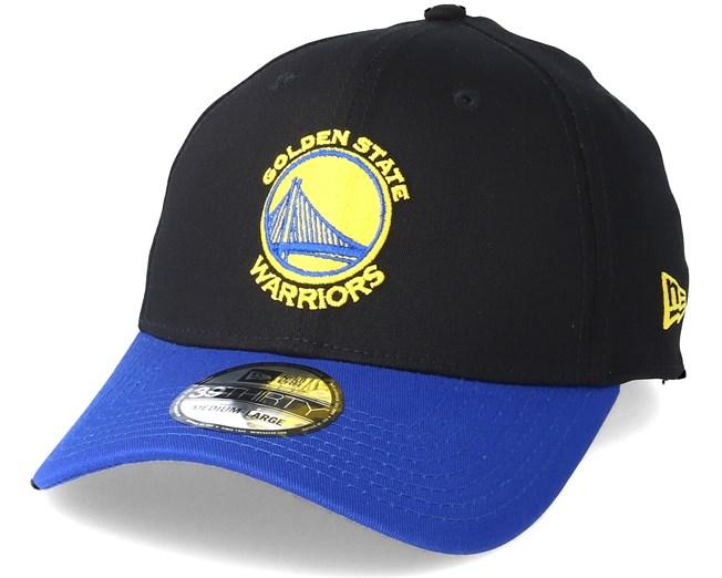 62562fb6dda72 Golden State Warriors Black Base 39Thirty Black Flexfit - New Era Gorra -  Hatstore