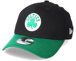 b7ac1680babb1 Boston Celtics Black Base 39Thirty Black Flexfit - New Era