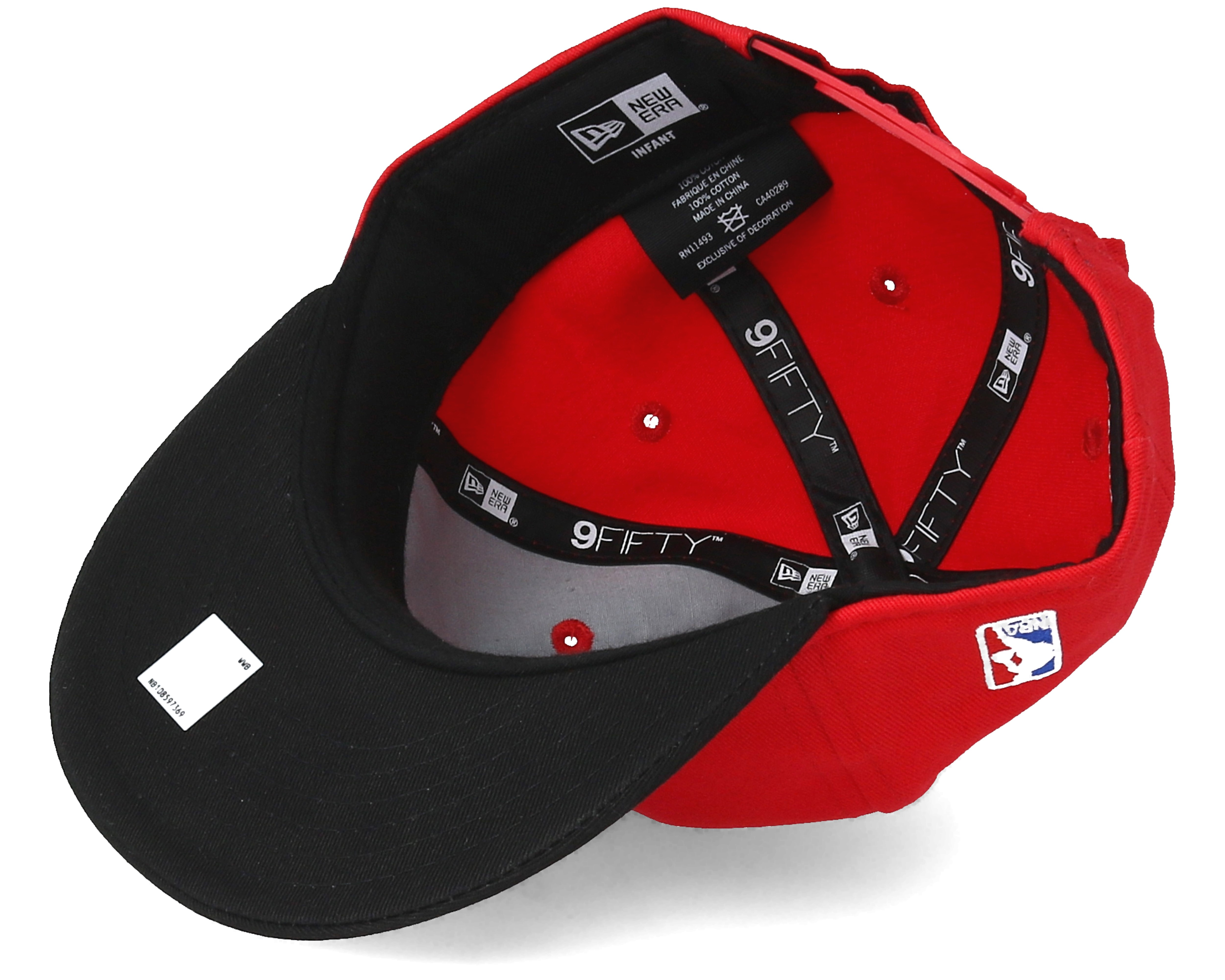 Kids Chicago Bulls Kids Essential 9fifty Infant Red