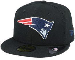 Hatstore Exclusive New England Patriots 59Fifty Black Fitted - New Era