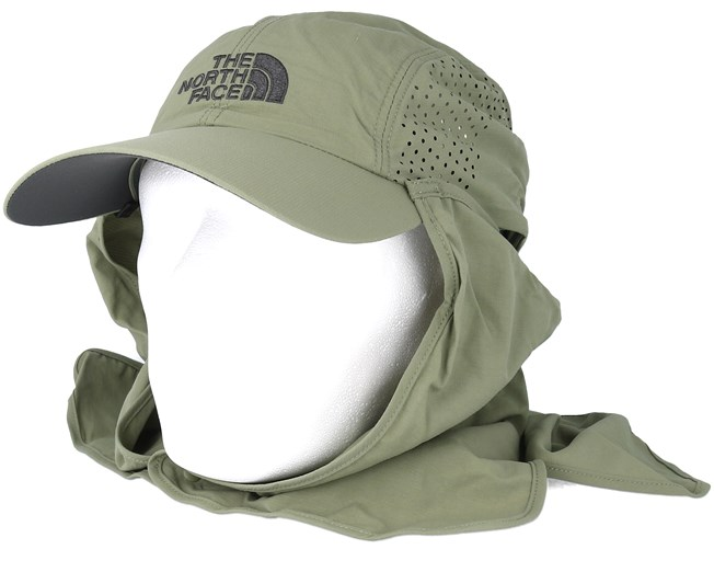 83019e6344f Sun Shield Ball Olive Adjustable - The North Face cap - Hatstore.co.in