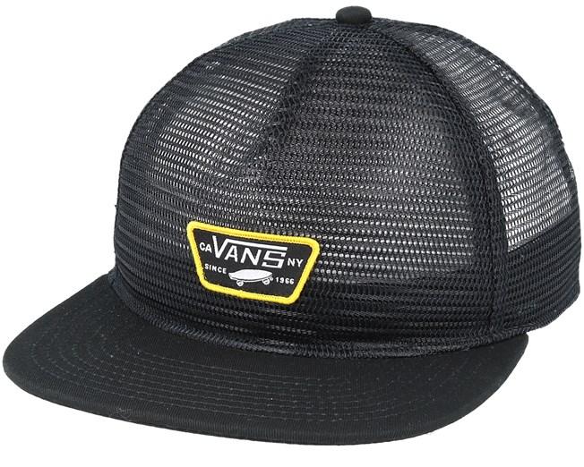 Bound By Nothing Black Trucker - Vans caps - Hatstoreworld.com cb6baa06c63b