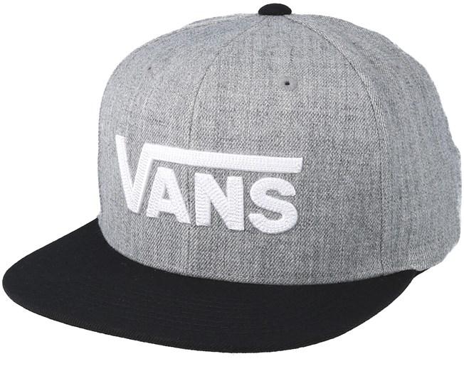 Drop V II Heather Grey Snapback - Vans - Start Cappellino - Hatstore dfdcc239e883
