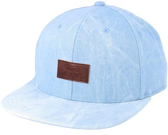 b782b0f9e5e Allover it Acid Wash Blue Snapback - Vans caps - Hatstoreworld.com