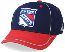 New York Rangers Alpha Navy/Red Flexfit - Adidas