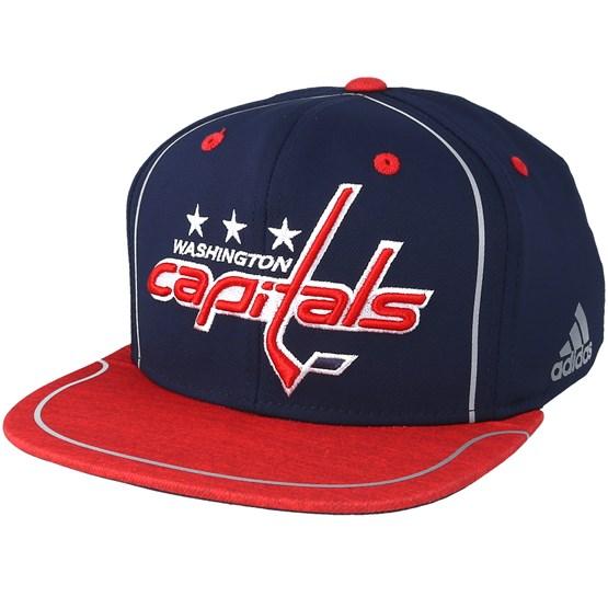 official photos b6042 a4622 Washington Capitals Bravo Navy Red Snapback - Adidas caps -  Hatstoreaustralia.com
