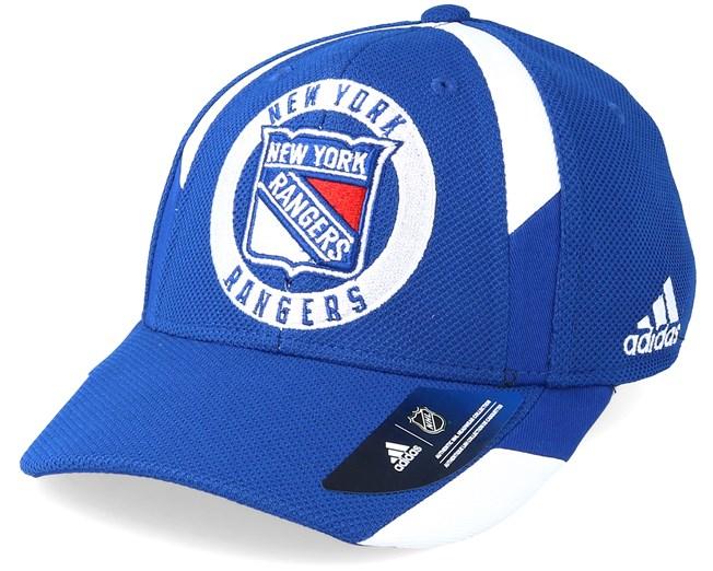 c6bfcea53c3 New York Rangers Echo Blue Flexfit - Adidas caps - Hatstoreworld.com