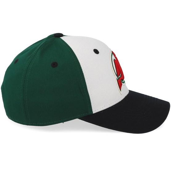 quality design dbca9 dc4d5 New Jersey Devils Cotton 3 Colour White Green Black Adjustable - Adidas caps  - Hatstoreworld.com